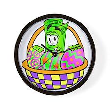 Mr. Deal - Easter Egg Basket Wall Clock