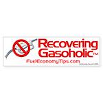 Recovering Gasoholic Bumper Sticker