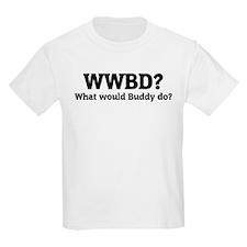 What would Buddy do? Kids T-Shirt
