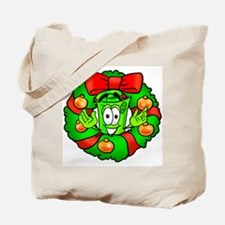 Mr. Deal - Christmas - Wreath Tote Bag