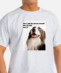Canine Rescue Advocate Ash Grey T-Shirt