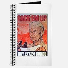 Eisenhower Back Em Up Journal