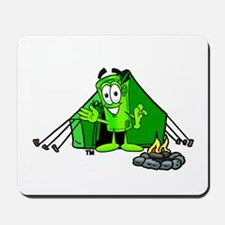 Mr. Deal - Camping Tent Mousepad