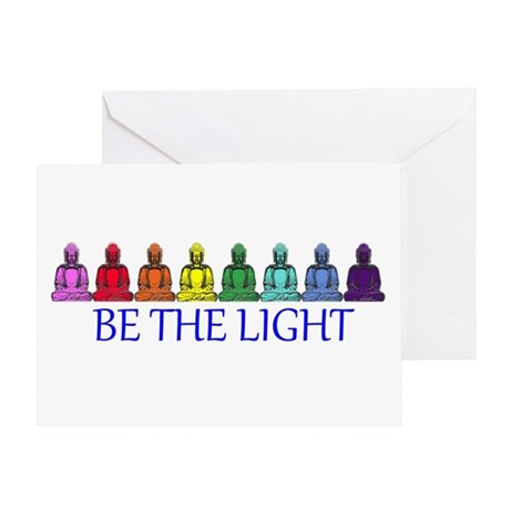 BE THE LIGHT Greeting Card