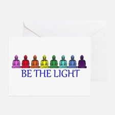 BE THE LIGHT Greeting Cards (Pk of 10)