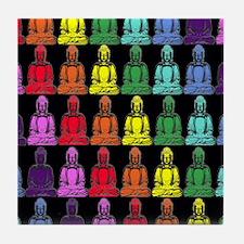 Buddha Rainbow Tile Coaster