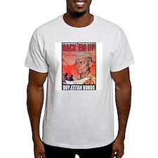 Eisenhower Back Em Up Ash Grey T-Shirt