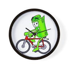 Mr. Deal - Biking - Money Alw Wall Clock