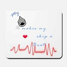 My SSG, Heart Skip A Beat Mousepad