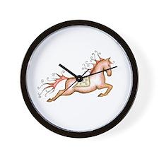 Capriole Horse Wall Clock