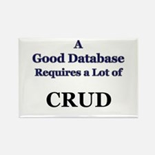 """CRUD"" Rectangle Magnet"