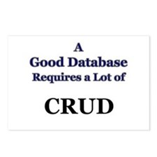 """CRUD"" Postcards (Package of 8)"