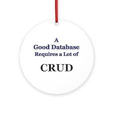 """CRUD"" Ornament (Round)"