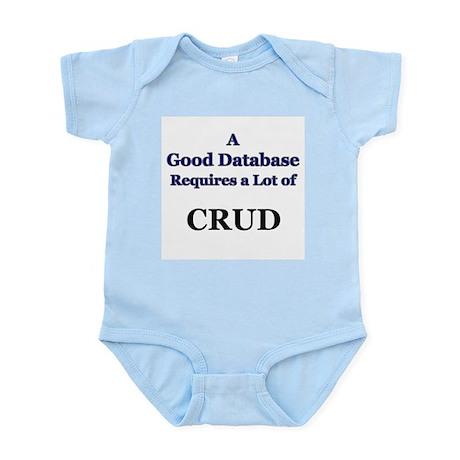 """""""CRUD"""" Infant Creeper"""