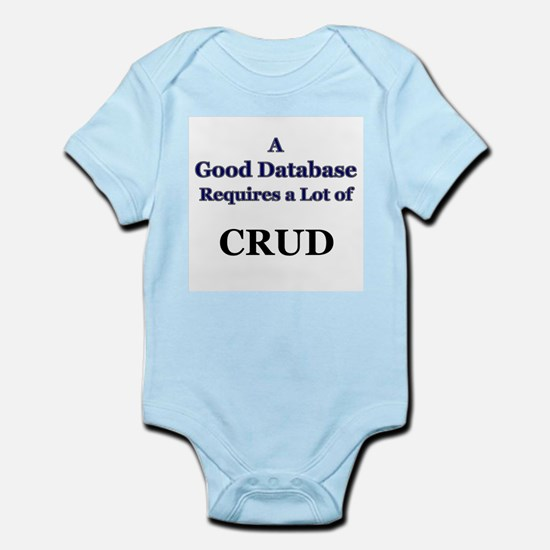 """CRUD"" Infant Creeper"