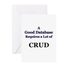 """CRUD"" Greeting Cards (Pk of 10)"
