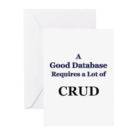 """CRUD"" Greeting Cards (Pk of 10)"