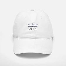 """CRUD"" Baseball Baseball Cap"