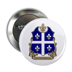 """Fiere"" Quebecoise Button"