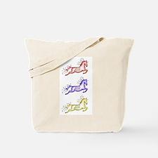 Capriole Horses Tote Bag