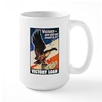 Victory Eagle Poster Art Large Mug