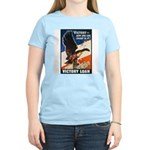 Victory Eagle Poster Art (Front) Women's Pink T-Sh