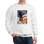 Victory Eagle Poster Art (Front) Sweatshirt