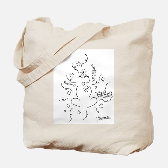 Cute Teacher voice Tote Bag