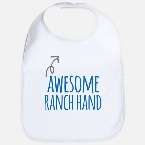 Awesome ranch hand Baby Bib