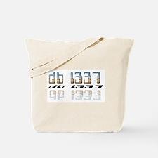 """""""db l337"""" Tote Bag"""