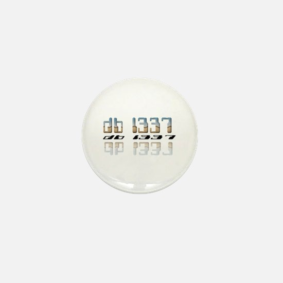 """""""db l337"""" Mini Button"""