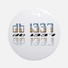 """db l337"" Ornament (Round)"