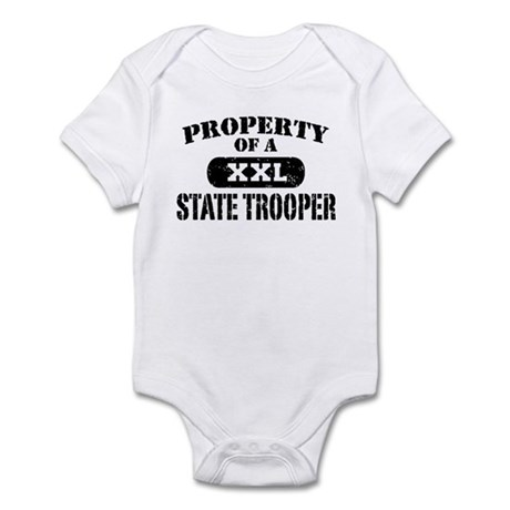 Property of a State Trooper Infant Bodysuit