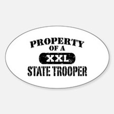 Property of a State Trooper Decal