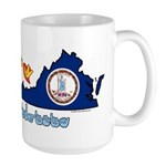 ILY Virginia Large Mug