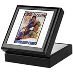 Care is Costly Poster Art Keepsake Box