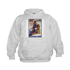 Care is Costly Poster Art (Front) Kids Hoodie