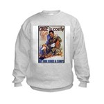 Care is Costly Poster Art (Front) Kids Sweatshirt