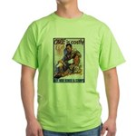 Care is Costly Poster Art Green T-Shirt