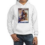 Care is Costly Poster Art Hooded Sweatshirt