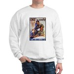 Care is Costly Poster Art Sweatshirt