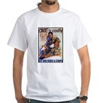 Care is Costly Poster Art White T-Shirt