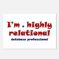 """""""Highly Relational"""" Postcards (Package of 8)"""