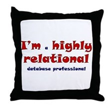 """Highly Relational"" Throw Pillow"