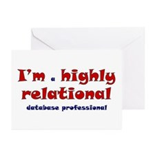 """Highly Relational"" Greeting Cards (Pk of 10)"