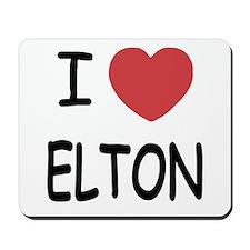 I heart Elton Mousepad