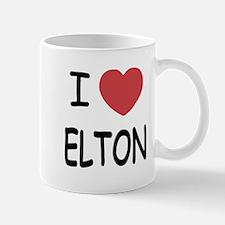 I heart Elton Mug