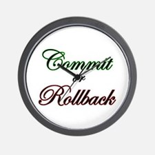 """""""Commit or Rollback"""" Wall Clock"""