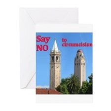 """Say NO' - Two Towers Greeting Cards (Pk of 10)"