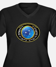 United Federation of Planets Women's Plus Size V-N